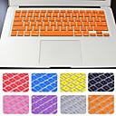 ieftine Huse Tastatură Mac-vânzare fierbinte solid de culoare capac tastatură silicon cu pachetul de MacBook Air / Pro / retină 13 inch