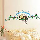 hesapli Dekorasyon Etiketleri-Manzara Hayvanlar Natürmort Karton Botanik Duvar Etiketler Uçak Duvar Çıkartmaları Dekoratif Duvar Çıkartmaları, Vinil Ev dekorasyonu