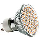hesapli LED Spot Işıkları-3 W 250-350 lm GU10 LED Spot Işıkları MR16 60 LED Boncuklar SMD 3528 Sıcak Beyaz 220-240 V / CE