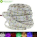 hesapli RGB Şerit Işıklar-SENCART 5m Esnek LED Şerit Işıklar 300 LED'ler Sıcak Beyaz / Beyaz / Kırmızı Kesilebilir / Kısılabilir / Bağlanabilir 12V / 3528 SMD