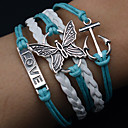 preiswerte Armbänder-Herrn Damen Wickelarmbänder - Leder Armbänder Für Weihnachts Geschenke Alltag Normal