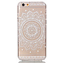 preiswerte Badezimmer Gadgets-Hülle Für Apple iPhone 6 Plus / iPhone 6 Transparent / Muster Rückseite Blume Hart PC für iPhone 6s Plus / iPhone 6s / iPhone 6 Plus