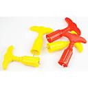 hesapli Pencere Malzmeleri-Tatil Süslemeleri Tatiller & Karşılama Dekoratif Objeler Sarı / Kırmzı 1set