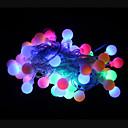 hesapli Duvar dekorasyonu-50 LED'ler RGB Şarj Edilebilir / Dekorotif 220-240V