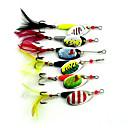 ieftine Momeală Pescuit-6 pcs Momeală Dură Δόλωμα Buzzbait & Momeli spinnerbait Linguri MetalPistol Scufundare Pescuit mare Momeală pescuit