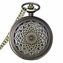 cheap Necklaces-Men's Women's Unisex Pocket Watch Quartz 30 m Hollow Engraving Alloy Band Analog