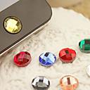 ieftine Decorațiuni Mobil-rășină acasă butonul autocolant pentru iphone 8 7 samsung galaxy s8 s7 (culoare aleatoare)