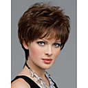 cheap Makeup & Nail Care-women nice short natural straight wig stylish lady brown synthetic hair wigs