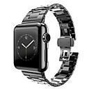 hesapli Bar Gereçleri ve Açıcılar-Watch Band için Apple Watch Series 3 / 2 / 1 Apple kelebek Toka Paslanmaz Çelik Bilek Askısı