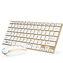 cheap Mouse Keyboard Combo-Miimall W01 Wireless 2.4GHz Mouse Keyboard Combo Mini Office Keyboard Office Mouse 1000 dpi