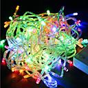 preiswerte LED-Zubehör-YouOKLight 18m Flexible LED-Leuchtstreifen 180 LEDs LED Diode RGB Wasserfest / Farbwechsel 220 V / IP44