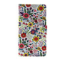 Buy Sony Case Card Holder / Wallet Stand Flip Full Body Flower Hard PU Leather SonySony Xperia Z3 Compact