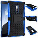hesapli Huawei İçin Kılıflar / Kapaklar-Pouzdro Uyumluluk OnePlus OnePlus Vaka Şoka Dayanıklı Satandlı Arka Kapak Zırh Sert PC için One Plus 3T One Plus 2