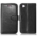 cheap Mice-DE JI Case For iPhone 4/4S / Apple Full Body Cases Hard PU Leather for iPhone 4s / 4