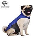 hesapli Hard Disk Kılıfları-Kedi Köpek Paltolar Vesta Köpek Giyimi Su Geçirmez Zıt Renkli Koyu Mavi Kırmzı Mavi Kostüm Evcil hayvanlar için