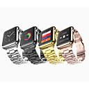 זול שעוני גברים-צפו בנד ל Apple Watch Series 4/3/2/1 Apple פרפר באקל מתכת אל חלד רצועת יד לספורט