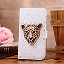cheap Galaxy S Series Cases / Covers-Case For Samsung Galaxy Samsung Galaxy Case Card Holder / Rhinestone / Flip Full Body Cases Animal PU Leather for S7 edge / S7 / S6 edge plus