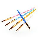 ieftine Perii de Unghii-Plastic Perii de unghii Pentru Unghie Novelty nail art pedichiura si manichiura Cute Stil