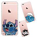 preiswerte iPhone Hüllen-Hülle Für Apple iPhone X iPhone 8 iPhone 6 iPhone 6 Plus Transparent Rückseite Cartoon Design Weich TPU für iPhone X iPhone 8 Plus iPhone