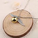 hesapli Takı Uçları-Kadın's Uçlu Kolyeler - Gümüş Altın Kolyeler Mücevher 1pc Uyumluluk