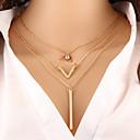 preiswerte Ohrringe-Damen Layered Ketten - damas, Modisch Gold Modische Halsketten Schmuck Für Besondere Anlässe, Geburtstag, Geschenk