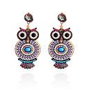 preiswerte Halsketten-Damen Tropfen-Ohrringe Ohrringe Schmuck Blau / Rosa Für Party Alltag Normal