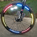 رخيصةأون اضواء الدراجة-اضواء الدراجة حزام عاكس ملصقات عاكسة دراجة جبلية ركوب الدراجة عاكس سهل الحمل آخر أخضر
