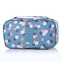 cheap Makeup & Nail Care-Travel Toiletry Bag Travel Luggage Organizer / Packing Organizer Portable Travel Storage for Clothes Bras Nylon / Floral