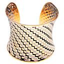 رخيصةأون Home Fragrances-رجالي أساور اصفاد مطلية بالذهب مجوهرات سوار ذهبي من أجل مناسب للحفلات مناسب للبس اليومي فضفاض
