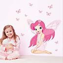 hesapli Evde Çocuk-Dekoratif Duvar Çıkartmaları - 3D Duvar Çıkartması Manzara / Yılbaşı / Çiçekler Oturma Odası / Yatakodası / Banyo / Çıkarılabilir