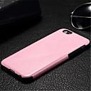 hesapli iPhone Kılıfları-Pouzdro Uyumluluk iPhone 6s Plus / iPhone 6 Plus / iPhone 6s iPhone 6 Plus / iPhone 6 Arka Kapak Tek Renk Sert PU Deri için iPhone 6s Plus / iPhone 6s / iPhone 6 Plus