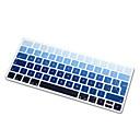 hesapli Mac Klavye Kılıfları-Sihirli klavyenin 2015 sürümü ab düzeni için İspanyolca dil gökkuşağı degrade ultra ince silikon klavye cilt kapağı