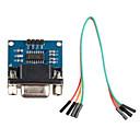tanie Moduły-RS232 do modułu komunikacji TTL w / Dupont kabla dla Arduino