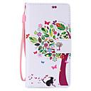 رخيصةأون Huawei أغطية / كفرات-غطاء من أجل هواوي P8 Huawei هواوي P8 لايت P8 Lite P8 حالة هواوي حامل البطاقات محفظة مع حامل قلب غطاء كامل للجسم شجرة قاسي جلد PU إلى