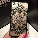 cheap Women's Watches-Case For iPhone 6s Plus / iPhone 6 Plus / iPhone 6s iPhone 6 Plus / iPhone 6 Transparent Back Cover Mandala Hard PC for iPhone 6s Plus / iPhone 6s / iPhone 6 Plus