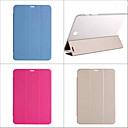 baratos Capinhas para Galaxy Série J-Capinha Para Samsung Galaxy Capa Proteção Completa Côr Sólida PU Leather para