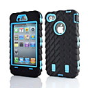 cheap iPhone Cables & Adapters-Case For iPhone 4/4S Apple Full Body Cases Soft Silicone for iPhone 4s/4
