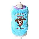 hesapli Fırın Araçları ve Gereçleri-Köpek Svetşört Köpek Giyimi Karton Sarı Mavi Corduroy Kostüm Evcil hayvanlar için Erkek Kadın's Sevimli Günlük/Sade