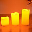 זול פנסים-נרות הובילו להגדיר עבור מסיבת יום הולדת חג המולד שלוש של נרות בגדלים שונים / M / L
