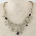 cheap Necklaces-Women's Hollow Out Statement Necklace Ladies Vintage European Fashion Silver Bronze Necklace Jewelry For Wedding Party Daily Casual Masquerade Engagement Party