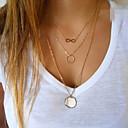 preiswerte Halsketten-Damen Anhängerketten - Unendlichkeit Europäisch, Simple Style, Modisch Golden Modische Halsketten Schmuck Für Party, Alltag, Normal
