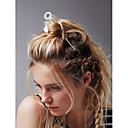 זול תכשיטים לשיער-כסף מוזהב סגסוגת פשוט חמוד משרד / קריירה מקרי / ספורטיבי בגדי ריקוד נשים