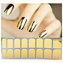preiswerte Make-up & Nagelpflege-1 pcs 3D Nails Nagelaufkleber Nagelfolie Striping Tape Nagel Kunst Maniküre Pediküre Abstrakt / Modisch Alltag / PVC / 3D Nagel Sticker / Folien-Abziehband