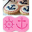 hesapli Modüller-Bakeware araçları Silikon Çevre-dostu / Kendin-Yap Kek / Kurabiye / Çikolota karikatür Şekilli Pişirme Kalıp 1pc