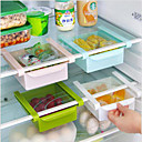 cheap Kitchen Storage-DIY Kitchen Fridge Space Saver Organizer Slide Under Shelf Rack Holder Storage