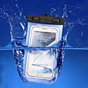 ieftine Genți Universale & Valize-Maska Pentru iPhone 7 / iPhone 6s Plus / iPhone 6 Plus iPhone SE / 5s Rezistent la apă / cu Fereastră Husă Mată Moale PC