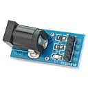 hesapli Elektrik Fişleri ve Soketleri-arduino Ahududu pi elektronik DIY için DC güç dönüştürücü modülü