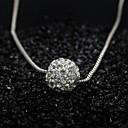 ieftine Seturi de Bijuterii-Pentru femei Coliere cu Pandativ - stil minimalist, Modă Argintiu Coliere Pentru Ocazie specială, Zi de Naștere, Cadou