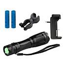 hesapli LED Anahtarlıklar-ZK10 LED Fenerler LED 1100 lm 5 Pil ve Şarj Aleti ile Zoomable Kamp / Yürüyüş / Mağaracılık / Su Geçirmez