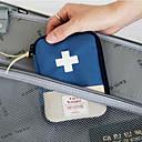 hesapli Seyahat Sağlığı-Seyahat Hap Kutusu/Kılıfı Taşınabilir Seyahat Depolama için Taşınabilir Seyahat Depolama Kırmzı Mavi